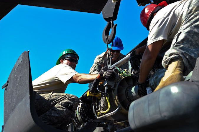 Precautionary Landing Turns Into Training Opportunity