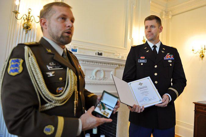 Estonian Border Guard Cross of Merit