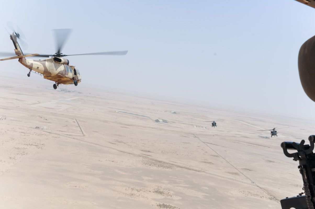 Desert hawks soar